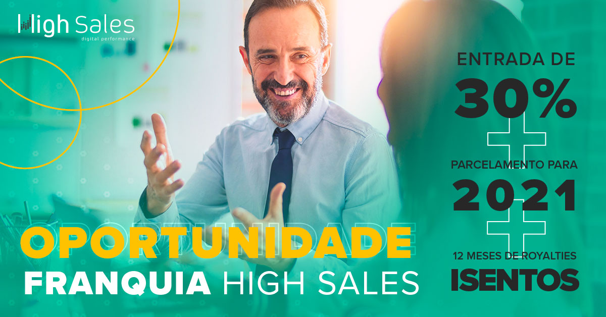 Franquia de Marketing Digital High Sales