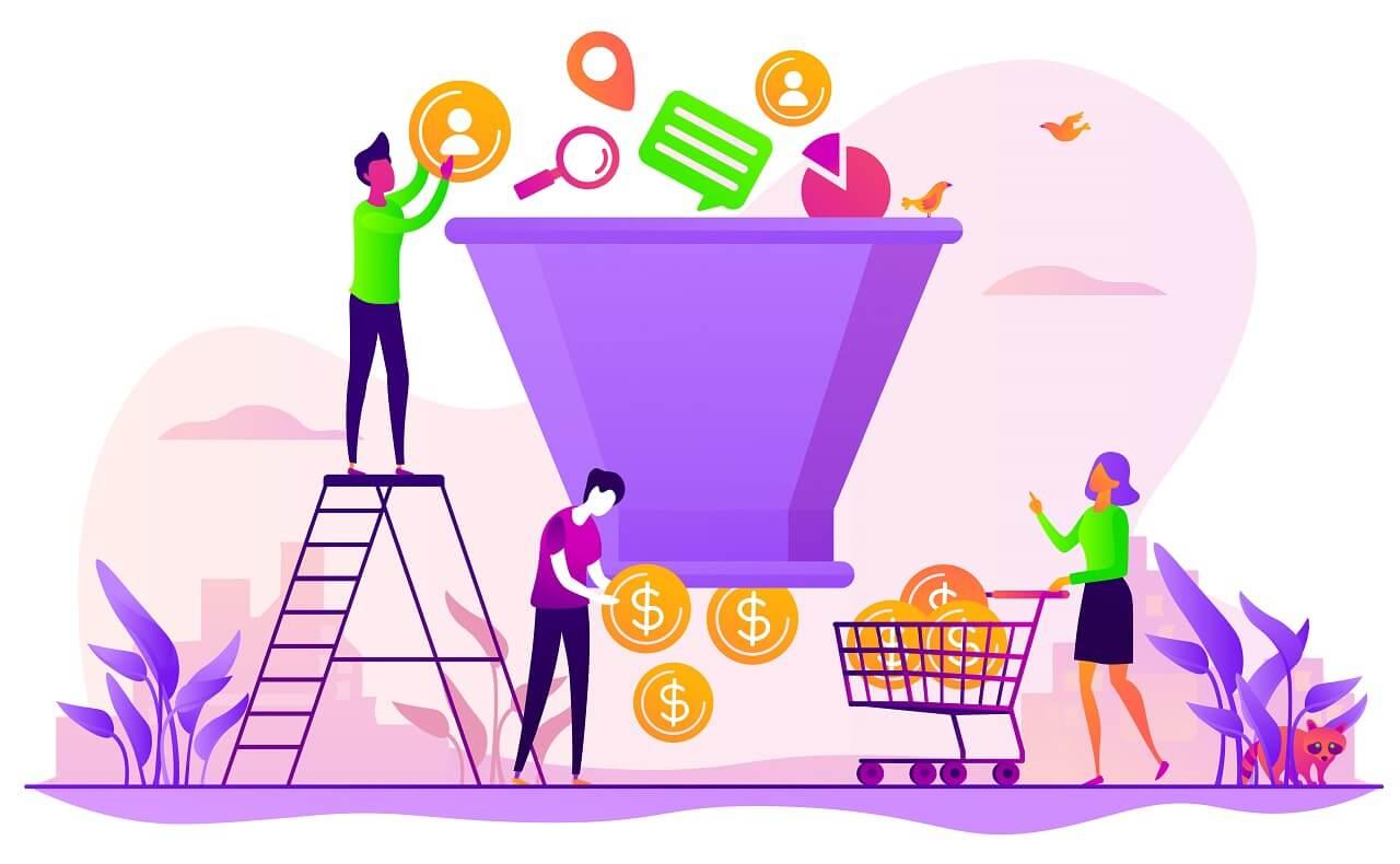 Como prospectar clientes de marketing digital com o funil de vendas