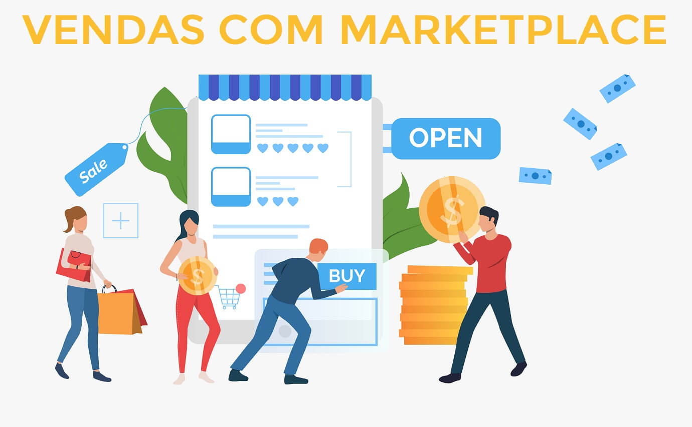 Negócios em alta com Marketplace